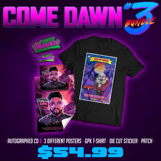 Come Dawn - CD/Shirt (Bundle #3)